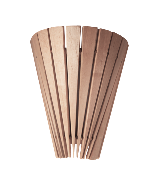Aizsargreste pirts lampai (sienas; melnalksnis)