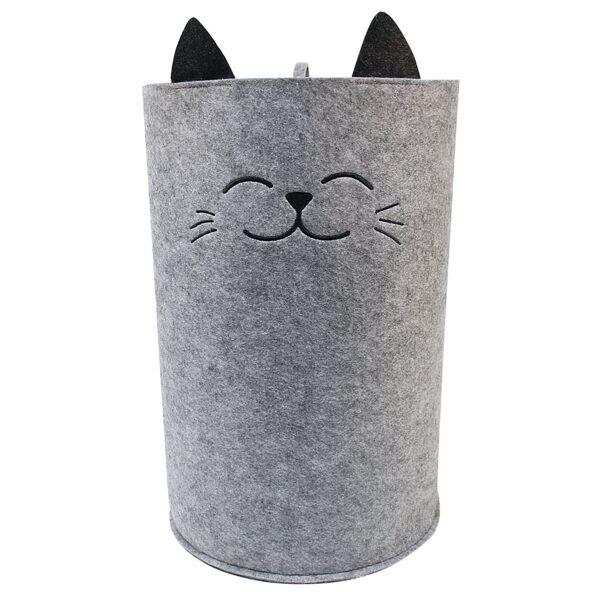 """Auduma kaste mantu glabāšanai """"Jautrais kaķītis"""""""