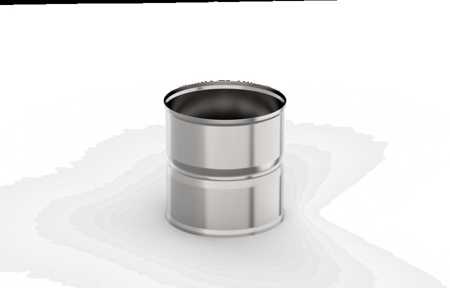 Dūmvada pāreja (adapteris) (115 mm/115 mm)