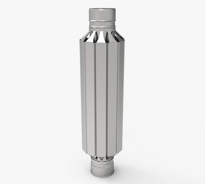 Дымоход-конвектор (D = 115 mm)
