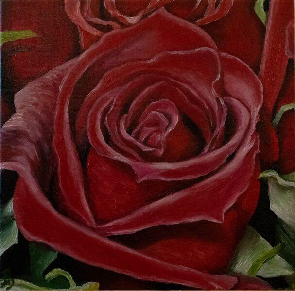 """Glezna """"Mīlestības smarža"""""""