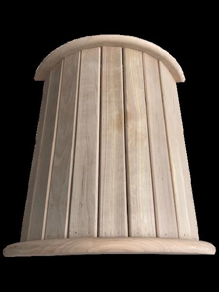 Подножник для бани и сауны (38x35x12 см; ольха)