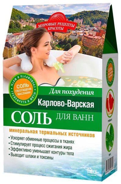 Соль для ванны Карловы Вары (500 г; для похудения)