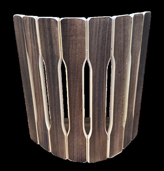 Koka aizsargreste pirts lampai (liepa, tonēta)