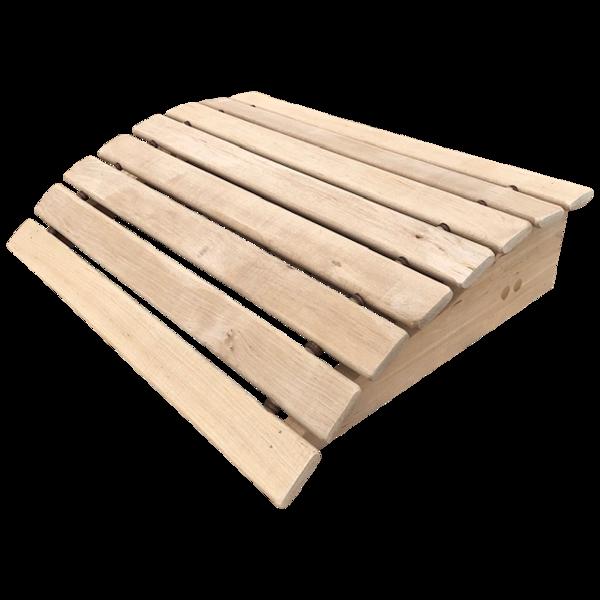 Подголовник для бани и сауны (45x34x11 см; ольха)