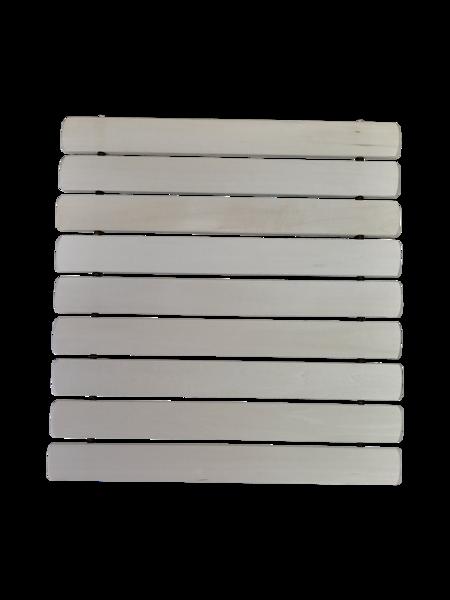 Koka paklājs - sēdeklis pirtij (melnalksnis; salokāms)