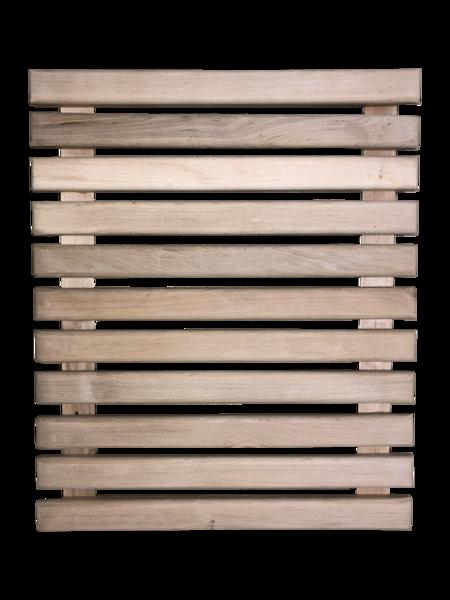 Koka reste pirts grīdai (0,5 x 0,6 m)