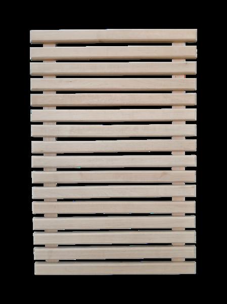 Koka restes pirts grīdai (0,6 x 0,9 m; melnalksnis)