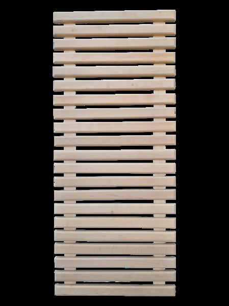 Koka reste pirts grīdai (0,5 x 1,2 m; melnalksnis)
