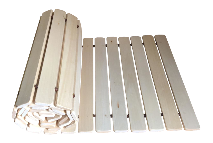 Koka reste pirts un saunas lāvai (liepa; 2 m)