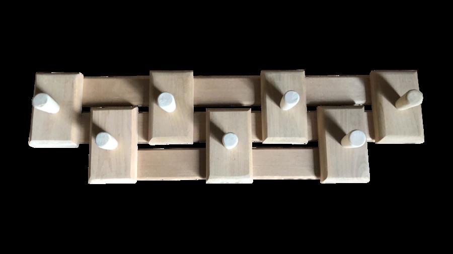 Koka pakaramais ar 7 āķiem (melnalksnis)