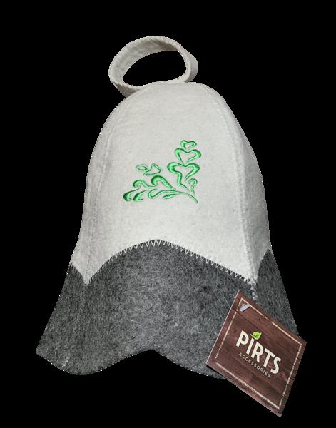 Pirts cepure ar izšuvumu