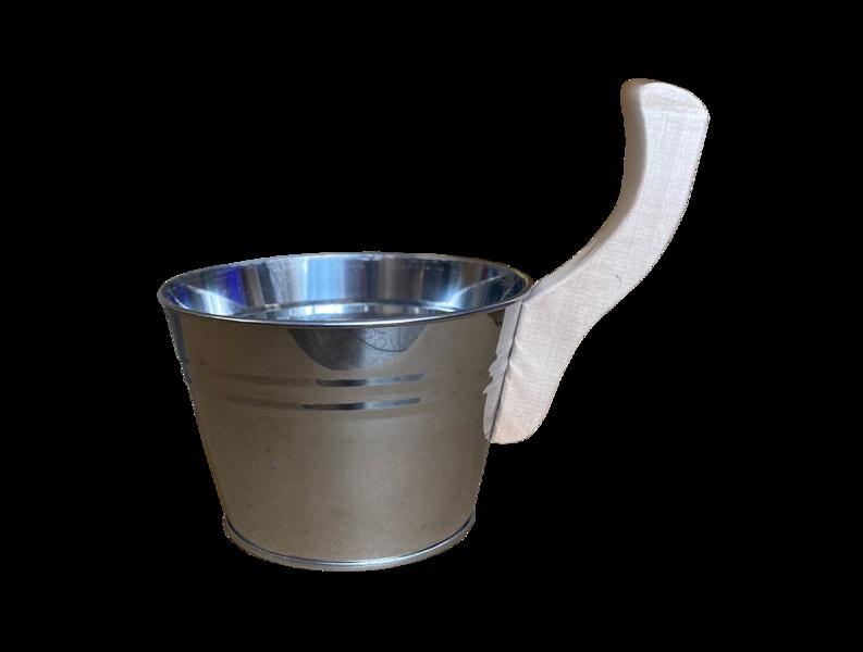Pirts kauss - ķipītis (nerūsējošais tērauds, 3 l)