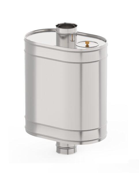 Бак для банной печи (60 л, D = 130 мм)