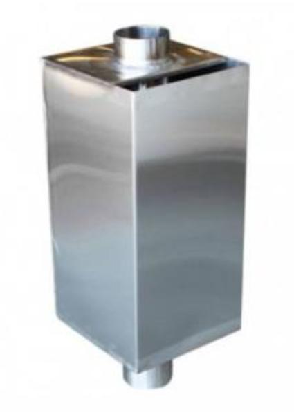 Ūdens tvertne pirts krāsnij (80 l, 150 mm)