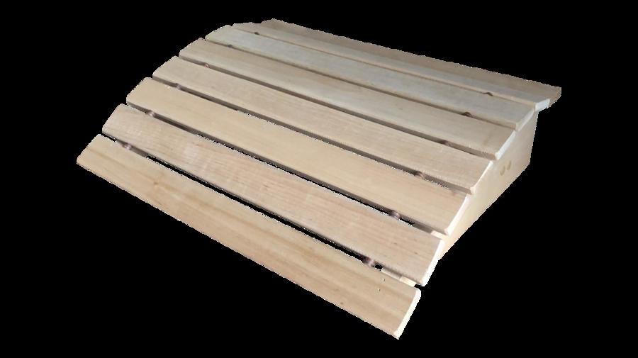 Подголовник для бани и сауны (35x34x11 см; ольха)