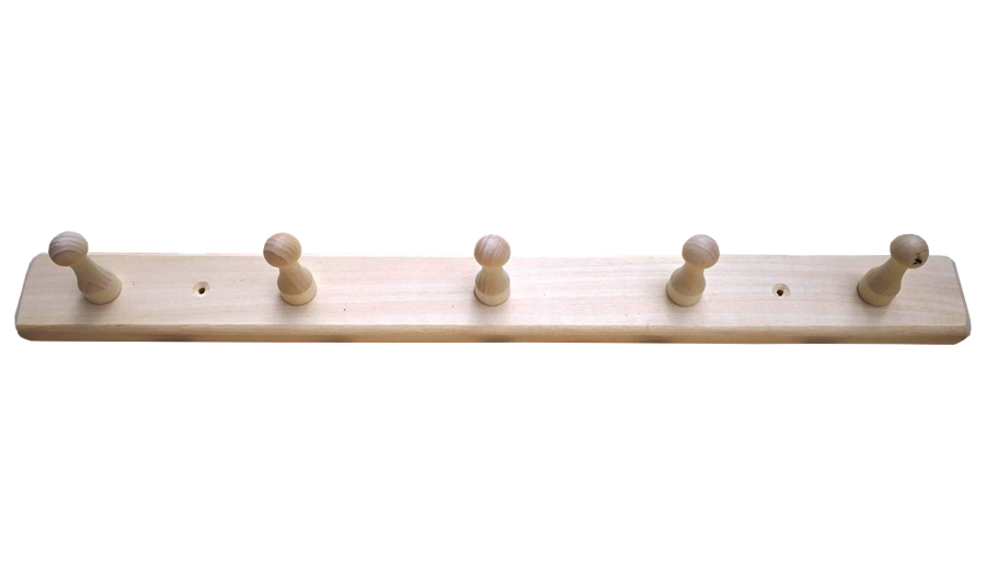 Koka pakaramais ar 5 āķīšiem